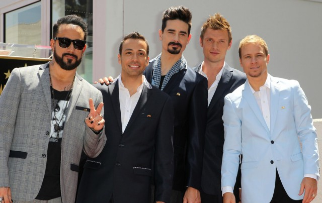 Backstreet Boys walk of fame