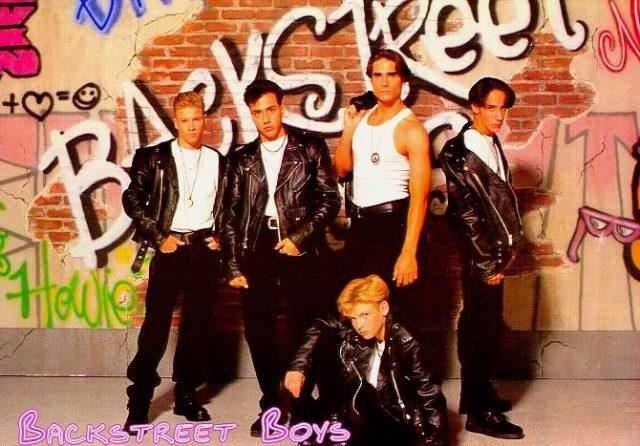 1993nick1 Brian Littrell , Howie Dorough , Kevin Richardson , AJ McLean och Nick Carter