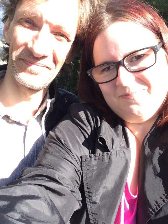 Stefan och jag