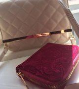 Ny väska och plånbok