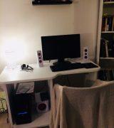 Ny dator och nytt skrivbord på G!