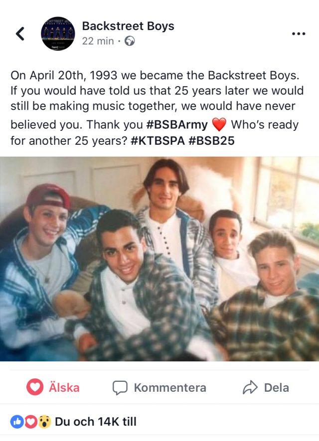 25 år med Backstreet Boys