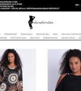 Vackra kurviga kvinnas shop
